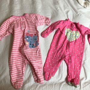 Carter's Pajamas - newborn pajamas